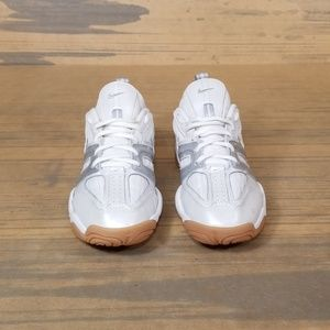 Nike Shoes - Nike Volleyball White/Silver Sneakers